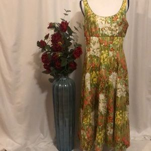 New Directions fit and flare dress size 14